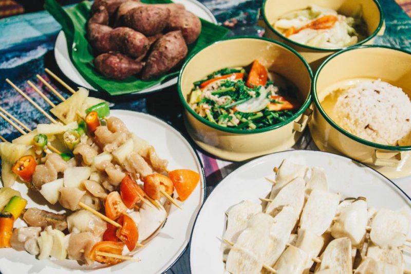 อาหารที่พักน่านอร่อย ที่พักบ่อเกลือ2562